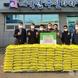 서안성교회, 대덕면에 '사랑의 쌀' 100포 기부