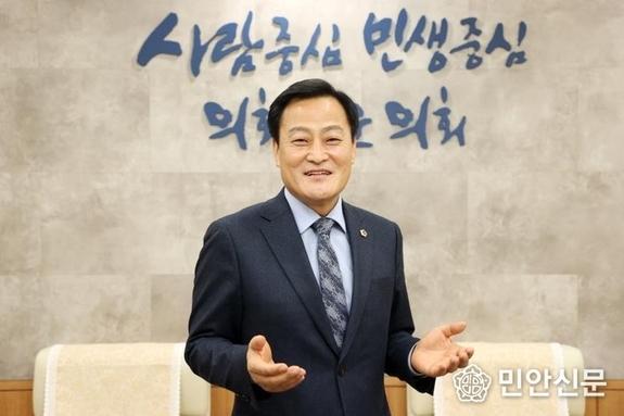 장현국 경기도의회 의장 / 2021년 신년 인터뷰