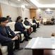 장현국 의장, '코로나19 생활치료센터'